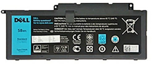 Dell baterie, 4-cell, 58Wh LI-ON pro Inspiron 7537/7737