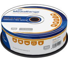 MediaRange DVD+R 4,7GB 16x, Spindle 25ks - MR404