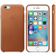 Apple iPhone 6s Leather Case, tmavě hnědá
