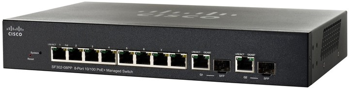 Cisco SF302-08MPP