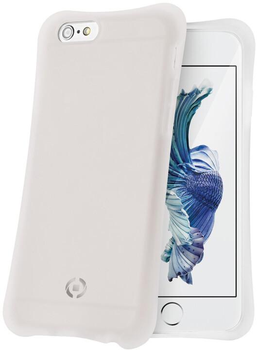 CELLY ICECUBE zadní kryt pro Apple iPhone 6S, bílá