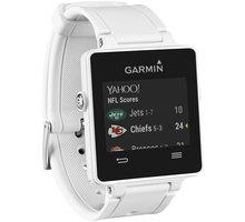 GARMIN Vivoactive, HR Premium, bílá - 010-01297-11