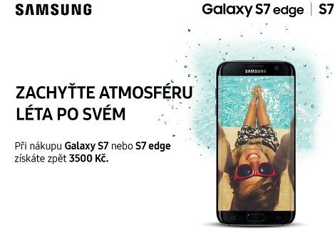 Cashback Samsung - získej 3500 Kč zpět