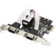 AXAGON PCI-Express adapter 2x sériový port + LP