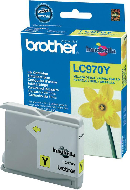 Brother LC-970Y, yellow