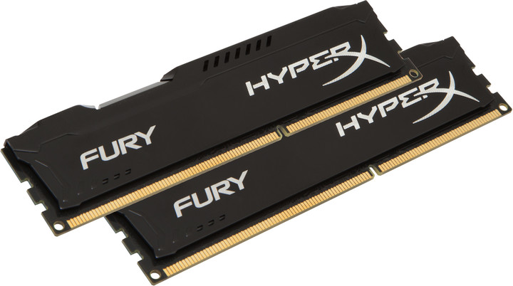 Kingston HyperX Fury Black 8GB (2x4GB) DDR4 2400