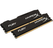 Kingston HyperX Fury Black 32GB (2x16GB) DDR4 2400 CL 15 - HX424C15FBK2/32