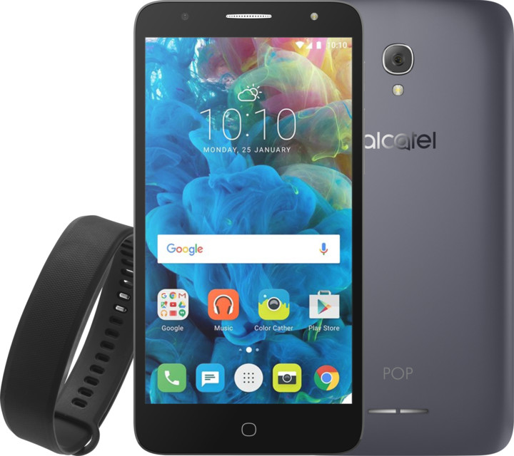 ALCATEL POP 4+ 5056D, slate + MOVE EDITION