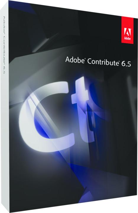 Adobe Contribute v.6.5, 1 uživatel, komerční - Mac - ENG