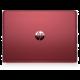 HP Pavilion 14 (14-bk006nc), stříbrnočervená