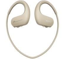 MP3 Sony přehrávač NWZ-WS413, 4GB, šedá - NWWS413C.CEW