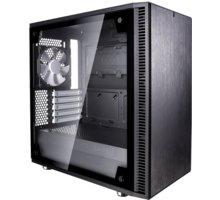 Fractal Design Define Mini C TG, sklo, černá - FD-CA-DEF-MINI-C-BK-TG