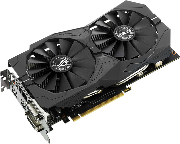ASUS GeForce GTX 1050 Ti STRIX-GTX1050TI-O4G, 4GB GDDR5