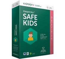 Kaspersky Internet Safe Kids EN, 1x mobil/tablet, 12 měsíců, nová licence - KL1962OCAFS