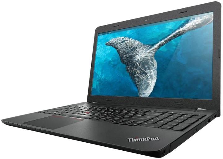 Lenovo ThinkPad E555, černá