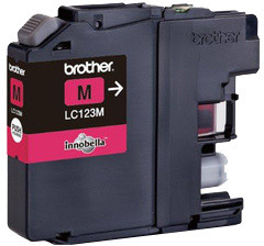 Brother LC-123M - magenta
