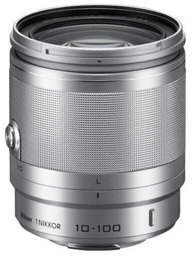 Nikkor 10-100 mm F4-5.6 VR 1, stříbrná