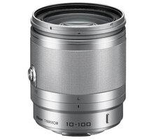 Nikkor 10-100 mm F4-5.6 VR 1, stříbrná - JVA705DC