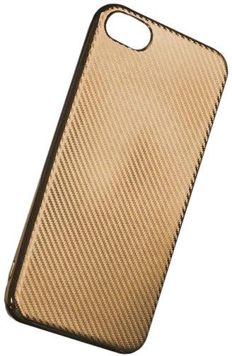 Forever silikonové (TPU) pouzdro pro Samsung Galaxy J3 2016, carbon/zlatá
