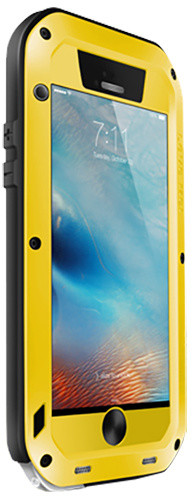 Love Mei Case iPhone 6 Three anti Straight version Yellow