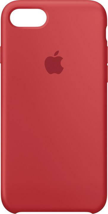 Apple Silikonový kryt na iPhone 7 – (PRODUCT) RED