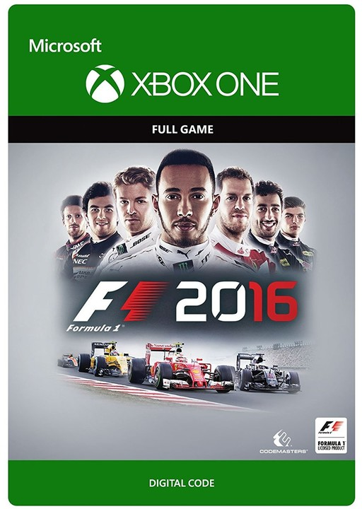F1 2016 (Xbox ONE) - elektronicky