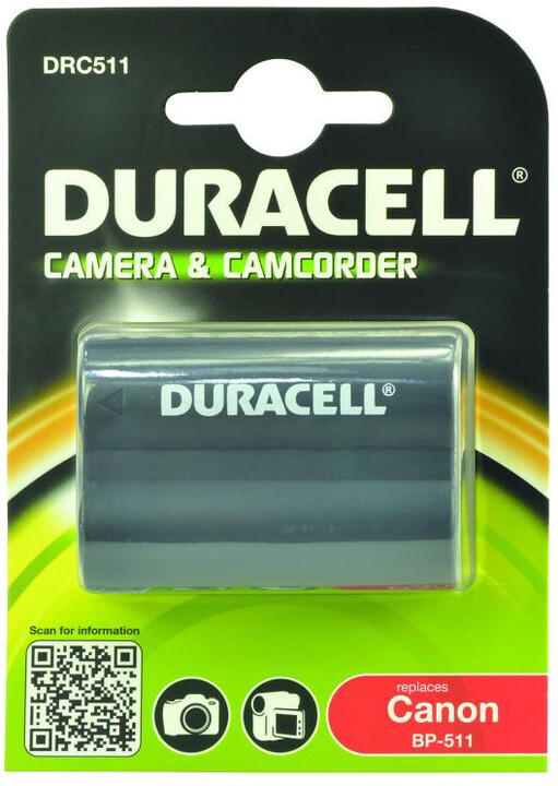 Duracell baterie alternativní pro Canon BP-511