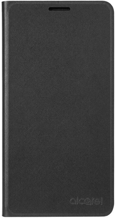 ALCATEL A3 XL Stand Flip Case SC9008, černá