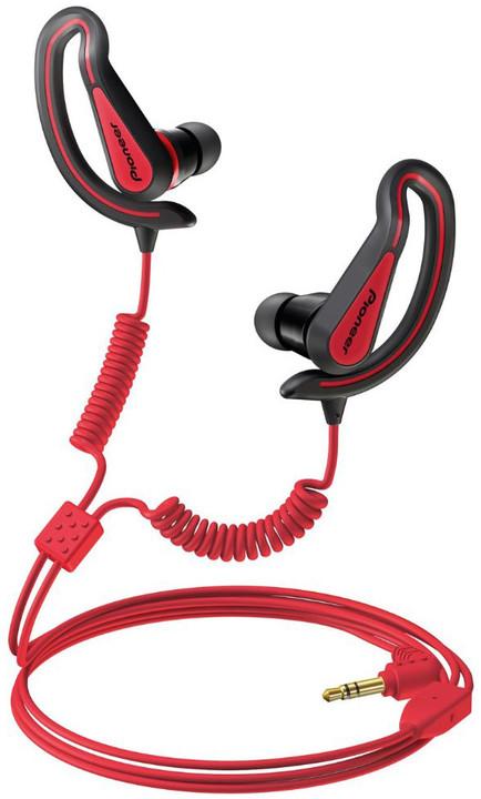 Pioneer SE-E721, černo-červená
