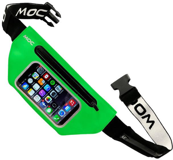 MOC Smartphone waist bag - ledvinka XXL, lime