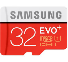 Samsung Micro SDHC EVO Plus 32GB + SD adaptér - MB-MC32DA/EU