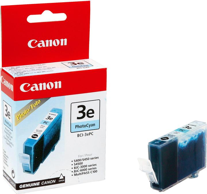 Canon BCI-3e C, azurová