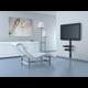 Meliconi 480517 Slim Style Plus AV Shelf Police pro TV komponenty, černá