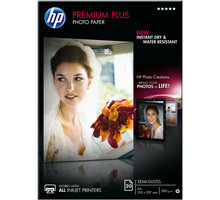HP foto papír Premium Plus Glossy-Semi Photo Paper - CR673A