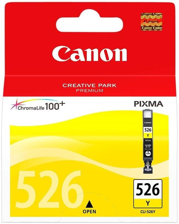 Canon CLI-526Y, žlutá