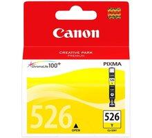 Canon CLI-526Y, žlutá - 4543B001