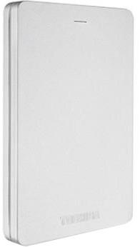 Toshiba Canvio Alu 3S - 500GB, stříbrná