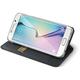 CELLY Air pouzdro pro Samsung Galaxy S6 Edge, PU kůže, černá