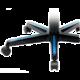 DXRacer Formula OH/FH08/NB, černá/modrá