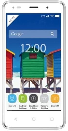 myPhone Q-SMART LTE, bílá