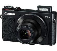 Canon PowerShot G9X, černá - 0511C002 + Paměťová karta SDHC 16GB Kingston (class 10) v ceně 189 Kč
