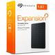 Seagate Expansion Portable - 1,5TB, černá