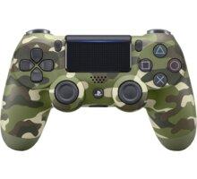 Sony PS4 DualShock 4 v2, green camo - PS719894858