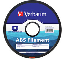 Verbatim tisková struna ABS, červená, 1,75mm, 1kg - 55003