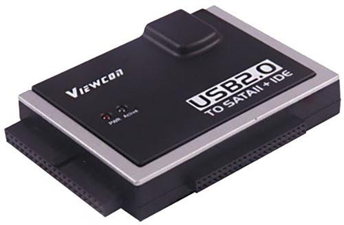 PremiumCord USB 2.0 na SATA + IDE adaptér s napájecím zdrojem