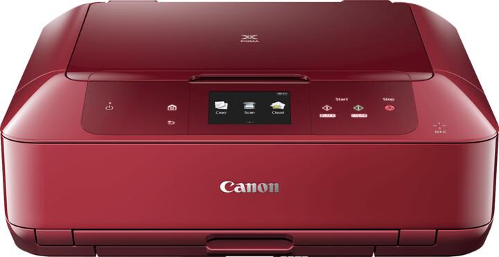 Canon PIXMA MG7752, červená