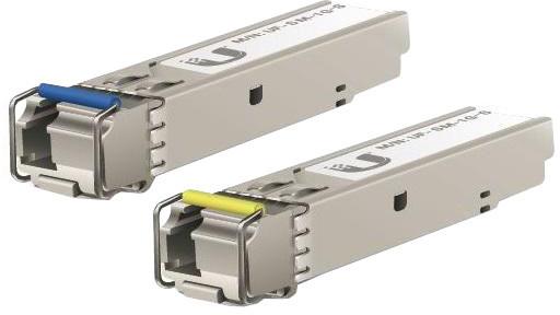 Ubiquiti Single-Mode optický modul SFP, 1Gbit, BiDi - sada 2 kusů