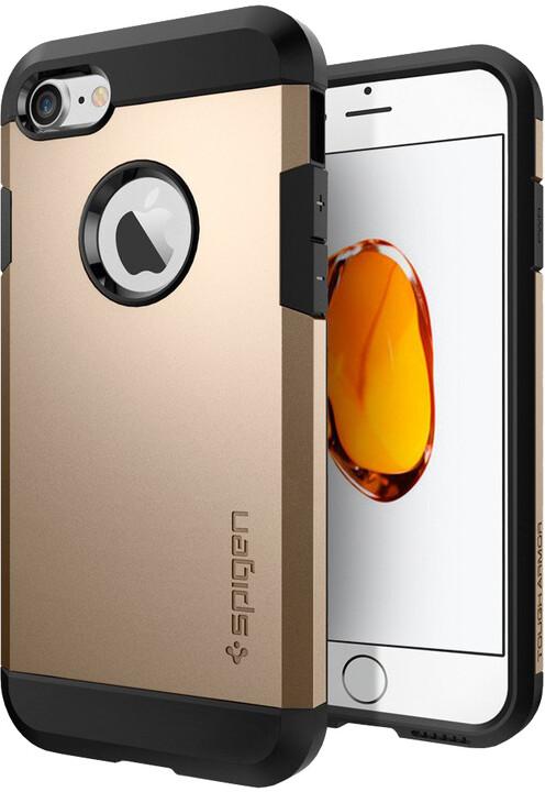 Spigen Tough Armor pro iPhone 7, champagne gold