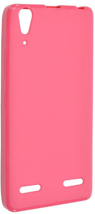 FIXED pouzdro pro Lenovo A6000, růžová