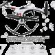 JJR/C H31 Dron 2.4G 4 kanálový, 6osý gyroskop, bez kamery, vodě odolný, bílá